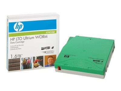 HPE LTO-4 Ultrium 1.6 TB WORM Data Cartridge