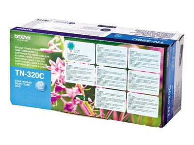 Brother TN320C 1.5k Cyan Toner