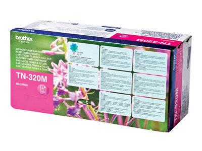 Brother TN320M 1.5k Magenta Toner