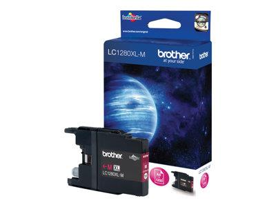 Brother LC1280XLM - Print cartridge - 1 x magenta - 1200 pages
