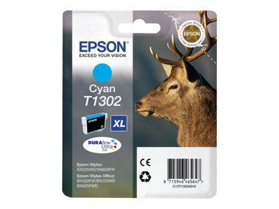 Epson T1302 - Print cartridge - 1 x cyan