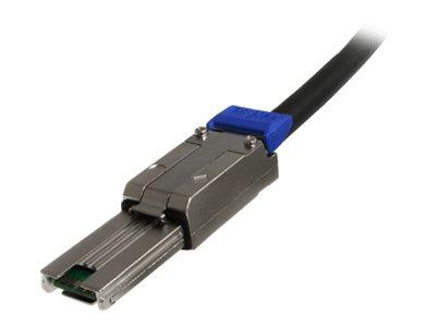 StarTech.com 1m External Mini SAS Cable - Serial Attached SCSI SFF-8088 to SFF-8088