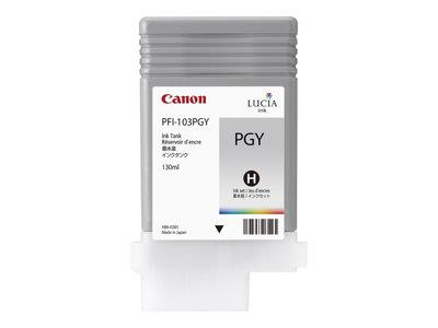 Canon PFI 103 PGY - Ink tank - 1 x pigmented photo grey