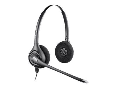 Poly Plantronics SupraPlus HW261N Duo/Binaural Noise-Cancelling Headset