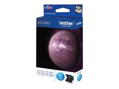 Brother LC1220C - Print cartridge - 1 x cyan - 300 pages