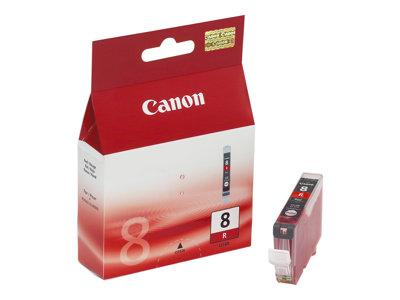 Canon CLI 8R - Ink tank - 1 x red - for PIXMA Pro9000, Pro9000 Mark II