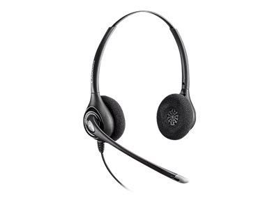 Poly Plantronics SupraPlus D261N Binaural Noise Cancelling Wideband Headset