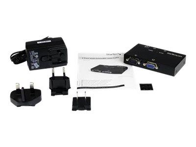 StarTech.com 2 Port VGA over Cat5 Video Extender – Transmitter