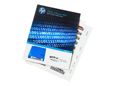 HPE LTO5 Ultrium RW Automation Bar Code Labels  110 pack