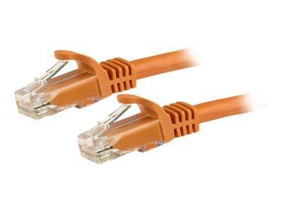 StarTech.com 15m Snagless Cat6 Patch Cable - Orange