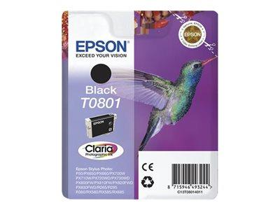 Epson T0801 - Print cartridge - 1 x black