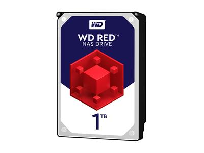 WD 1TB Red NAS Desktop  Hard Disk Drive - Intellipower SATA 6 Gb/s 64MB Cache 3.5 Inch - WD10EFRX
