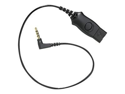 Poly Plantronics MO300-IPHONE 4S Cable for Plantronics HTOP Headset
