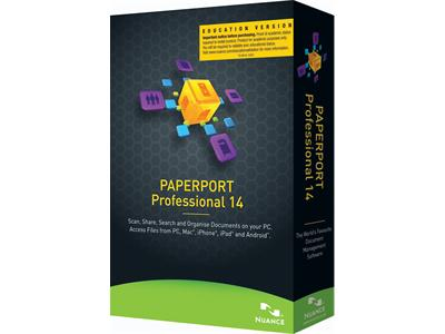 Nuance PaperPort Professional 14.0 (Education)