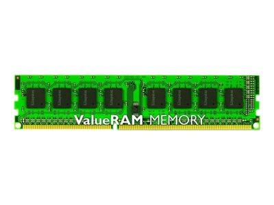 Kingston ValueRAM Kingston 8GB 1600MHz DDR3 DIMM Non-ECC CL11 STD Height 30mm