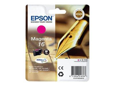 Epson 16 - Ink Cartridge - 1 x Magenta - 165 Pages - Pen and Crossword