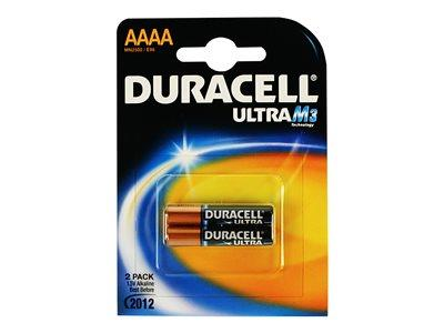 Duracell Ultra Power AAAA 2 Pack