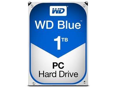 WD Blue 1TB Mobile 9.5mm Hard Disk Drive - 5400RPM SATA 6Gb/s 2.5 Inch - WD10JPVX