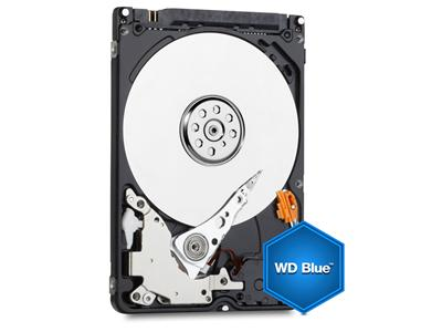 WD Blue 750GB Mobile 9.5mm Hard Disk Drive - 5400RPM SATA 6Gb/s 2.5 Inch - WD7500BPVX