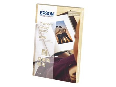 Epson Premium Glossy Photo Paper - 100 x 150 mm - 40 sheets