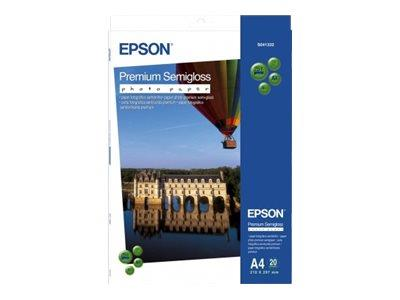 Epson A2 Premium Semi-Gloss Photo Paper 25 Sheets