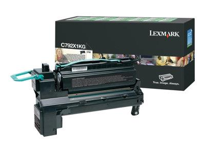 Lexmark C792 Black Extra High Return Program Ink