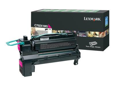 Lexmark C792 Magenta Extra High Return Program