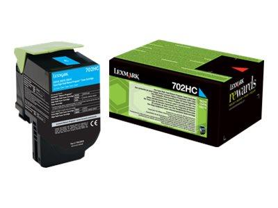 Lexmark High Yield Return Program Cyan Toner 3K