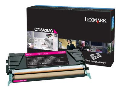 Lexmark C746/748 Magenta Return Program Toner