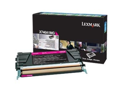 Lexmark X746/748 Magenta Return Program Toner