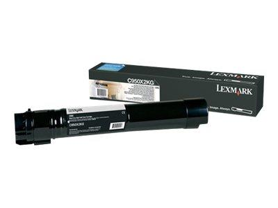Lexmark C950 Black Extra High Yield Toner 38K