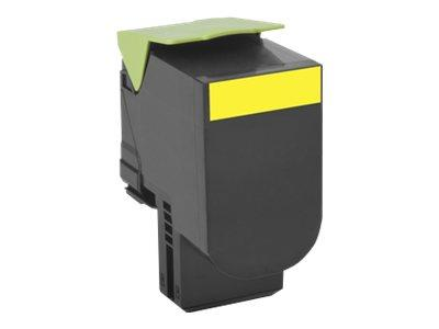 Lexmark 802SY Yellow Standard Return Program Toner 2K