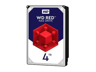 WD 4TB Red NAS Desktop  Hard Disk Drive - Intellipower SATA 6 Gb/s 64MB Cache 3.5 Inch - WD40EFRX