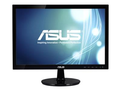 "Asus VS197DE 18.5"" 1366x768 5ms VGA Black Monitor"
