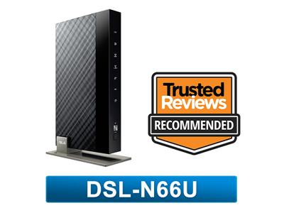 Asus DSL-N66U Concurrent Dual-Band Wireless-N900 ADSL Router