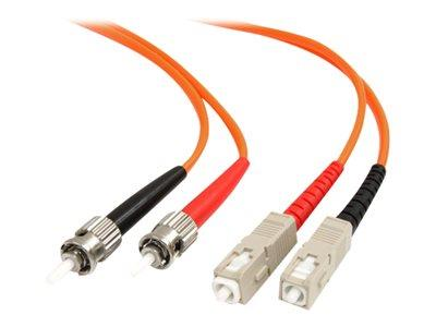 StarTech.com 3m Multimode 62.5/125 Duplex Fiber Patch Cable ST - SC