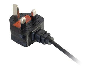 C2G 3m UK Non-Polarised Power Cord (BS 1363 to IEC 60320 C7)