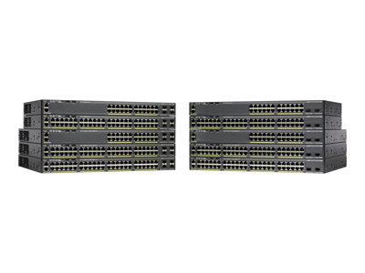 Cisco Catalyst 2960X-48LPS-L 48 port Managed Rack-Mountable Switch