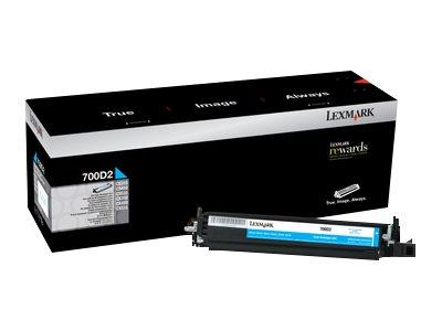 Lexmark 700D2 Cyan Developer Unit