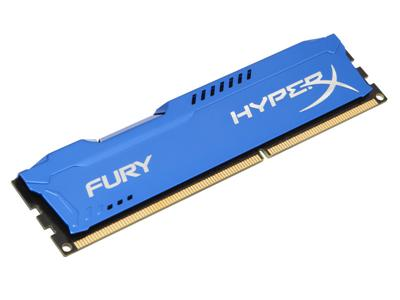 HyperX FURY Blue 8GB DDR3 1333MHz CL9 DIMM Memory