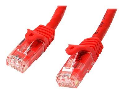 StarTech.com 3m Red Gigabit Snagless RJ45 UTP Cat6 Patch Cable