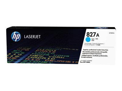 HP 827A Cyan Original LaserJet Toner Cartridge