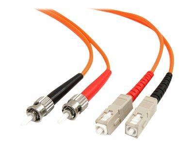 StarTech.com 2m Multimode 62.5/125 Duplex Fiber Patch Cable ST - SC