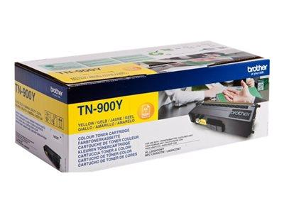 Brother TN-900Y Yellow Toner Cartridge 6k Yield