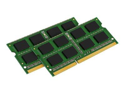 Kingston ValueRAM 16GB (2 x 8GB) DDR3 1600MHz Non-ECC SODIMM 204-pin CL11