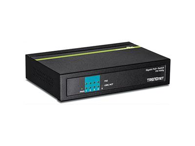 TRENDnet TPE-TG50G 5-Port Gigabit PoE+ Switch