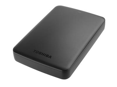 "Toshiba 2TB Canvio Basics USB 3.0 2.5"" Portable Hard Drive"