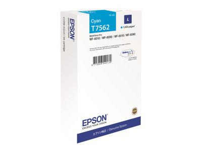 Epson C13T756240 Cyan Ink Cartridge 1.5k Yield