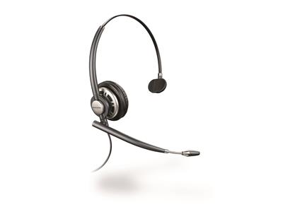 Plantronics EncorePro HW710 Mono Corded Noise Cancelling Headset 3 Year Warranty (was HW291N)