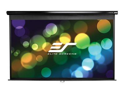 Elite Screens 203.7cm x 114cm Viewing Area 16:9 Format Max White - Black